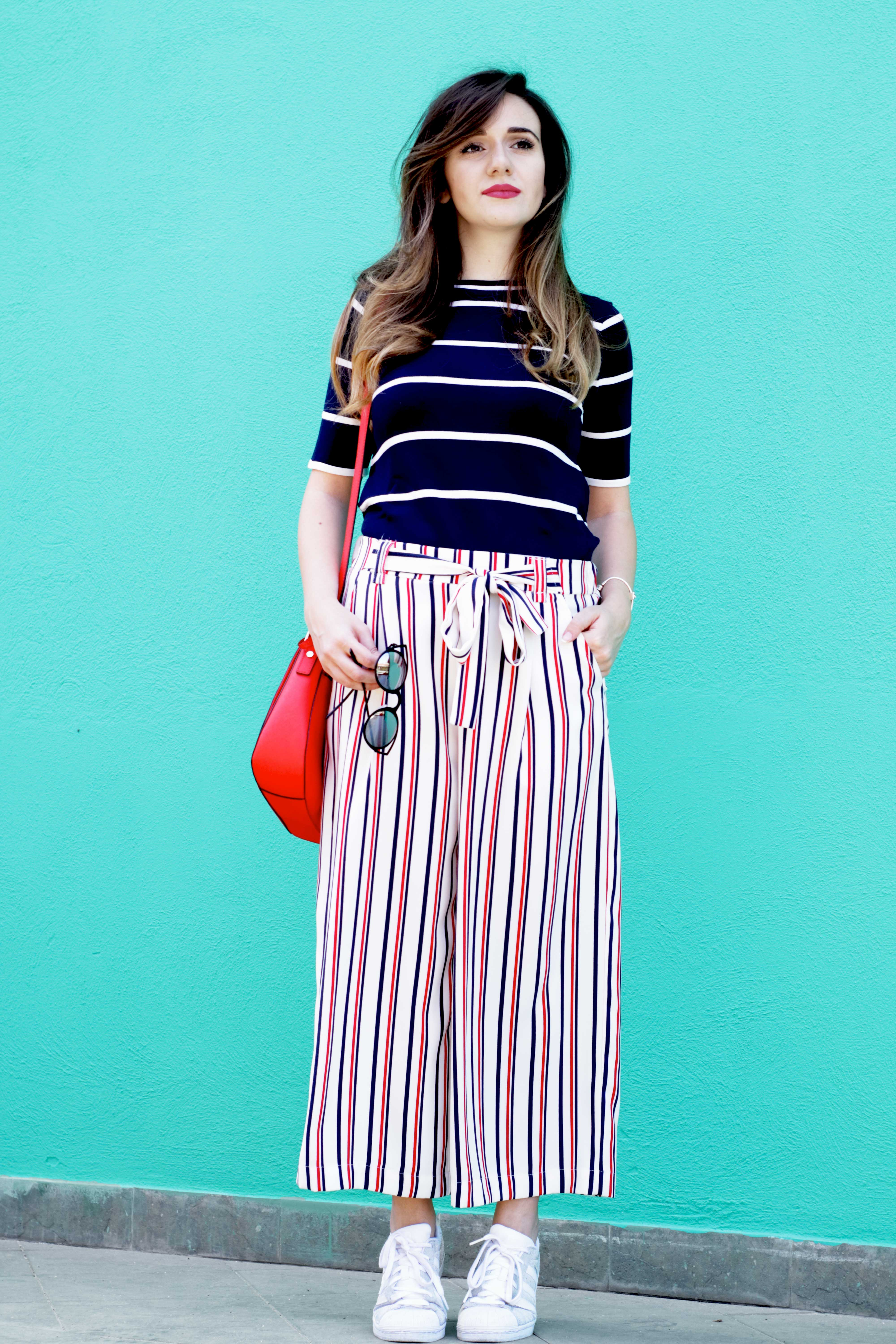 total-striped-look
