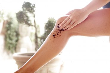 A Homemade scrub that has completely changed my legs