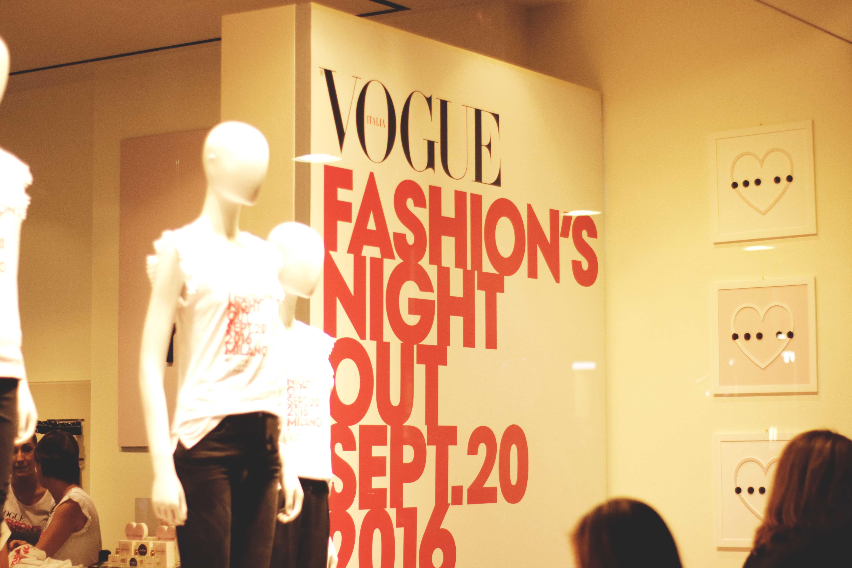 Vogue Fashion's Night Out Milan 2016
