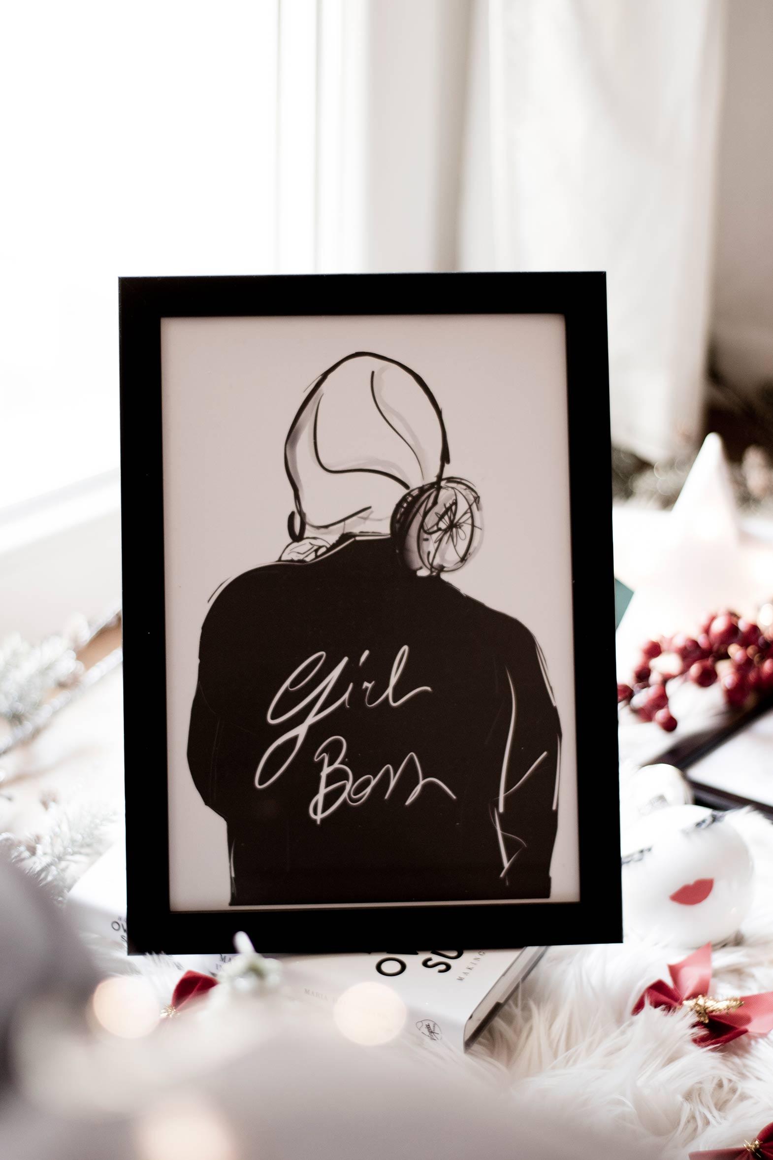 Girl Boss Illustration