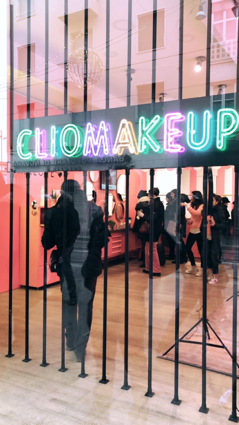 Clio Makeup Pop-up