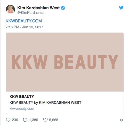 KKW Beauty Best Beauty 2017