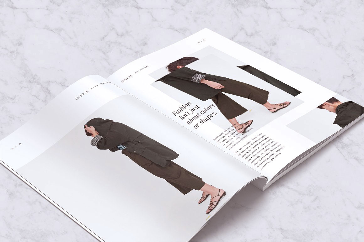What Is A Fashion Magazine Pull Letter